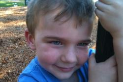 "bluem-oon:  this is my brother two years ago. we were at the park, just me and him, and he turned to me and said ""kayla, don't you ever wish there were no bad people in the world?"" i thought it to be a funny thing for a 5 year old to say, but shrugged it off. last year, he didnt come home from school, we thought that being only in grade prep, he might've decided to go home with his bestfriend without telling us, but he didn't.  the school confirmed they saw him get on his school bus after the bell rang. but thats all we knew, the bus driver said that he had gotten off a stop early, my mother was frantically searching the neighbourhood for him. we never found him. it's been two years and we're still looking for him, he was such a beautiful boy, and i cant help but think the worst. he could be anywhere in the world by now, so please, reblog this, no matter where you're from, you could save a life. xx"