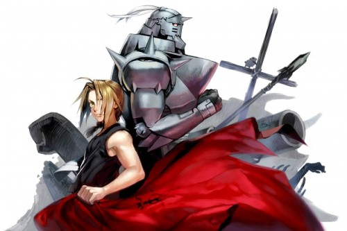 Fullmetal Alchemist fan art. I always thought Alphonse was the better brother.