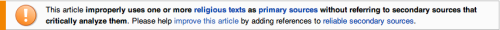 christinsanity:  Wikipedia doing it right…