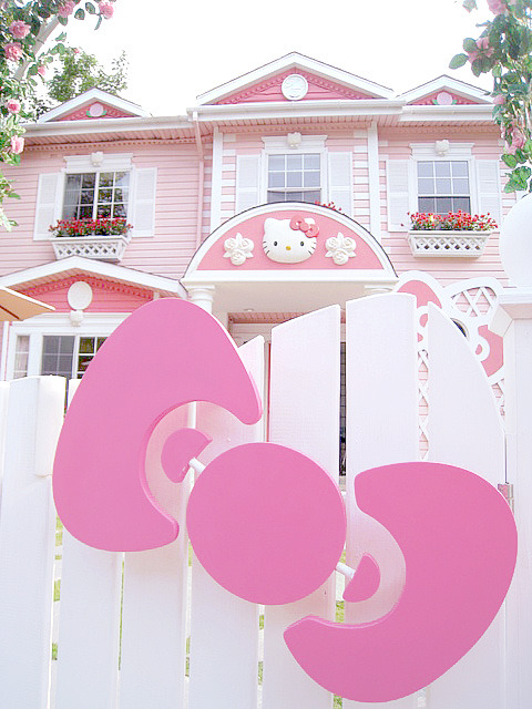 Hello Kitty Fence