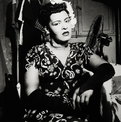 vintagegal:  Billie Holiday