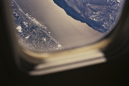 thenakedbrowneye:  on the plane / windows on the world (by phillip kalantzis-cope)