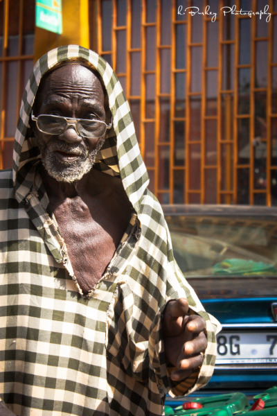 The coolest man in the Niamey Market Niamey, Niger 2012