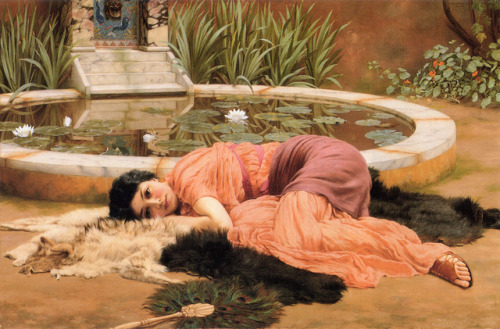 John William Godward, Dolce Far Niente (1904)