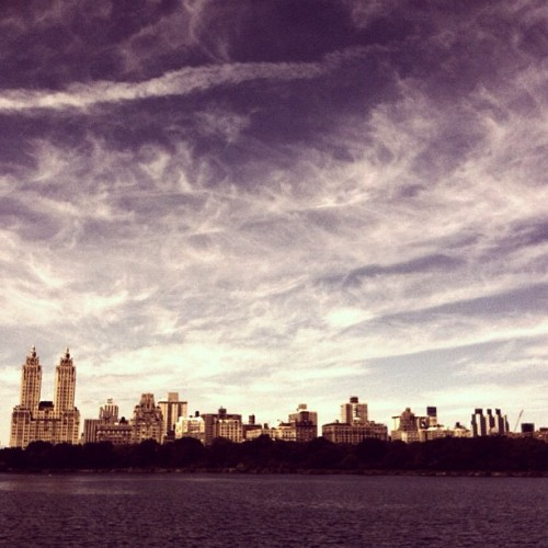 NYC summer skies #archive (Taken with instagram)