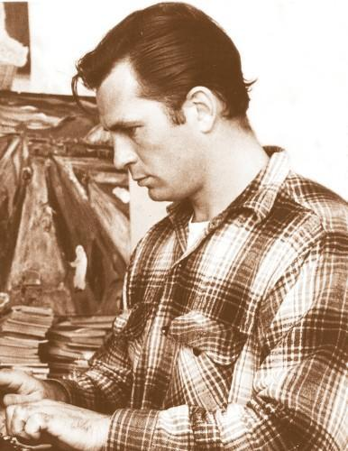 fuckyeahhistorycrushes:  Jack Kerouac (March 12, 1922 – October 21, 1969); American novelist and poet.