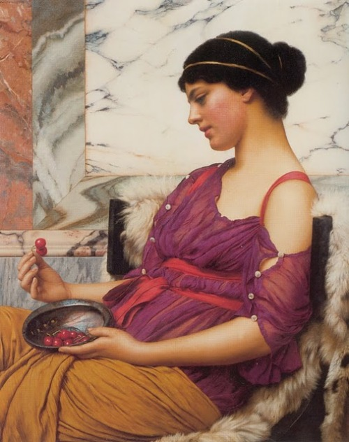 John William Godward, Ismenia (1908)