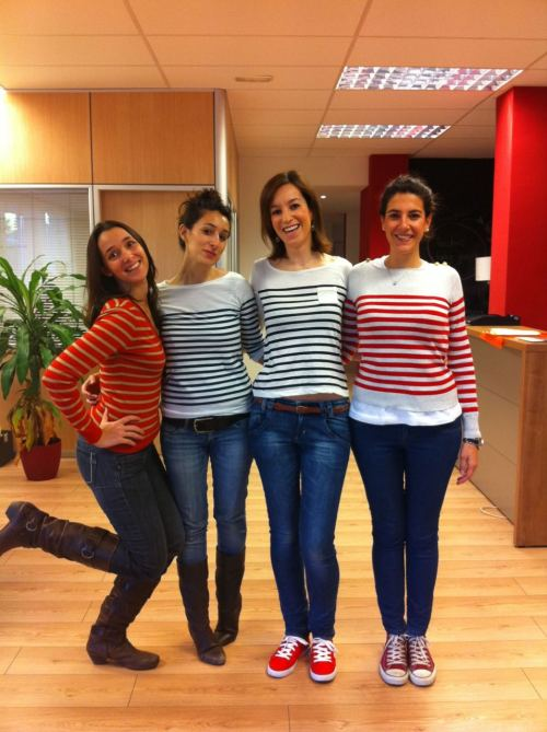 Oficina de King-eClient Madrid. 25 de noviembre de 2011. Casual friday.