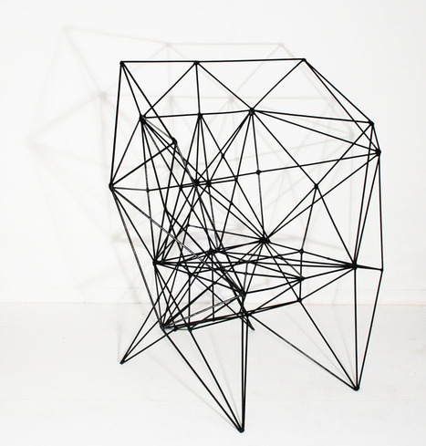 eclecticinterior:  Complicated but cool , The armadillo chair by Baltasar Portillo
