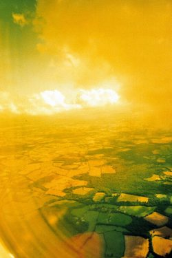 From film camera from aeroplane- own photo