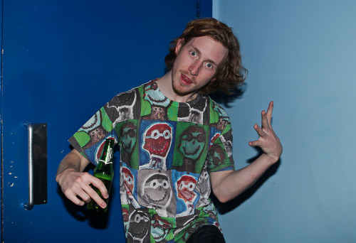 Asher Roth Shot this backstage at Asher Roth's live show at Jazz Cafe London 2012