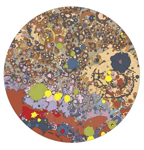 bashford:  Geologic Map of the North Side of the Moon by Desiree E. Stuart-Alexander (1978)