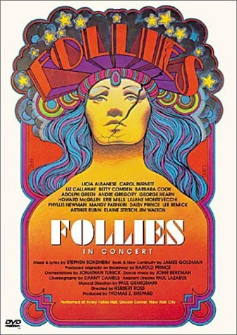 Gave up on being productive and decided to watch the Follies in Concert documentary.  I love that Elaine Stritch is completely loopy for half the rehearsal process/interview series and then just has to walk on stage to get the biggest applause of the night.