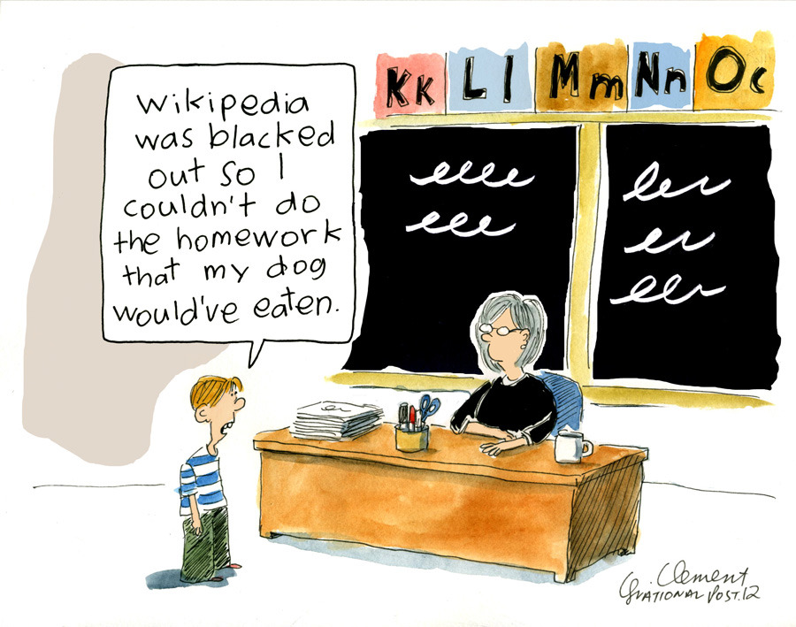 "Did Wikipedia's anti-SOPA blackout accomplish its goal?As of 12 a.m. ET Thursday — after 24 hours of darkness — Wikipedia is back online. According to the site, 162 million web users saw its protest against  the U.S. Stop Online Piracy Act (SOPA) and the Protect IP Act (PIPA). ""You said no,"" the company said on its thank you page.  ""You shut down Congress's switchboards. You melted their servers. Your  voice was loud and strong. Millions of people have spoken in defense of a  free and open Internet."