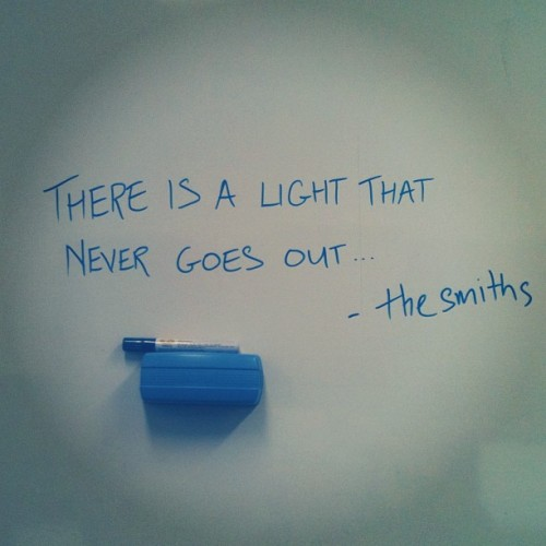 there is a light that never goes out - the smiths