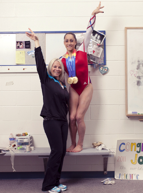 thechalkbucket:  Jordyn Wieber and Kathryn Geddert
