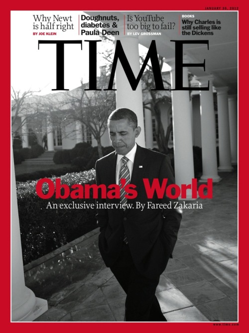 Next week's issue featuring President Barack Obama will be available on newsstands Friday.
