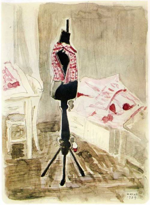 russianavantgarde:  Dmitry Mitrokhin - A Tailor's Dummy, 1959