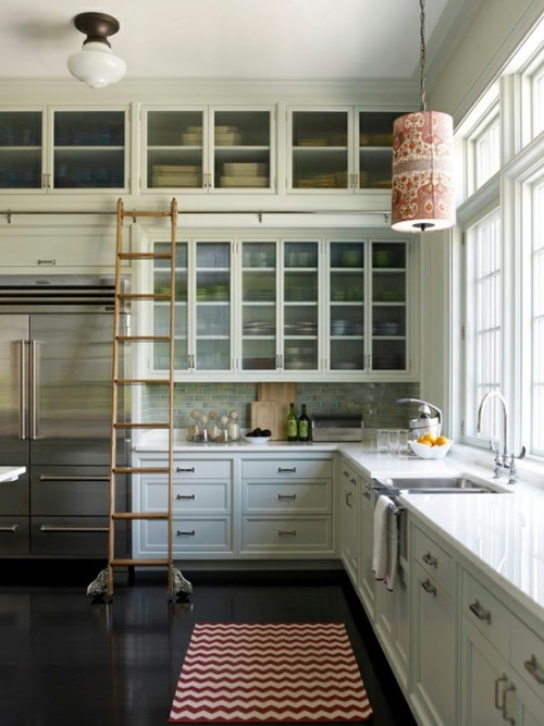 marleyandme:  A ladder in the kitchen…. Yes. Please.