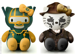 Kick-Ass & Rorscach Hello Kitty