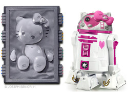 Han Solo Carbonite & R2-D2 Hello Kitty