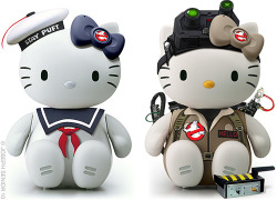 Staypuft & Ghostbuster Hello Kitty