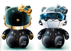 Daft Punk Hello Kitty