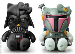 Darth Vader & Boba Fett Hello Kitty