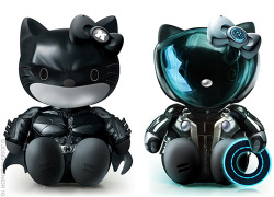 Dark Knight & TRON Hello Kitty