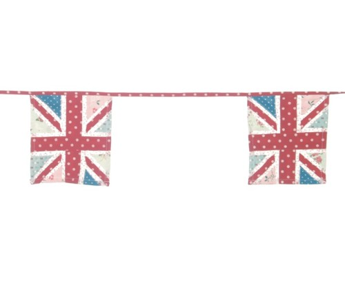 Union Jack square UK Bunting