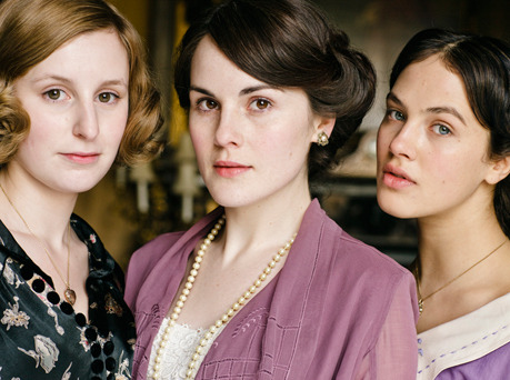 The girls of Downton Abbey!