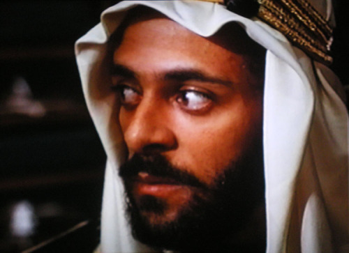 mydaroga:  A Dangerous Man: Lawrence After Arabia (1992). Made for television film starring Ralph Fiennes and Siddig El Fadil (Alexander Siddig). Terrible caps of my own making, as I only have it on VHS. It's been out of print on DVD since I've had a DVD player.  I love this movie.