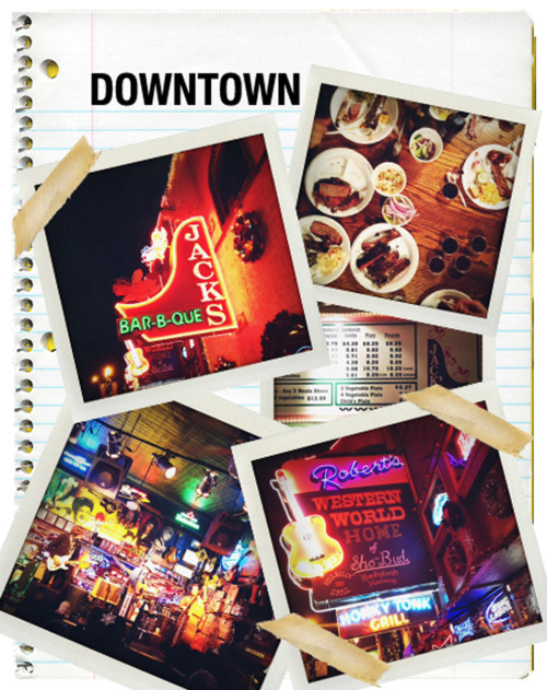 glamour:  Now on STF: Glamour goes to Nashville! See the scrapbook.