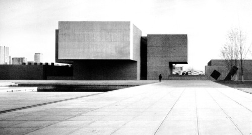 fuckyeahbrutalism:  Everson Museum of Art, Syracuse, New York, 1962-68 (I.M. Pei & Partners)