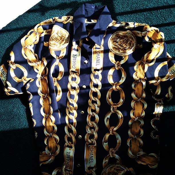 Chanel on a sunny day?! Illest! #fashion #chanel #vintage #instagrammers #art #sick #truedopeness  (Taken with instagram)