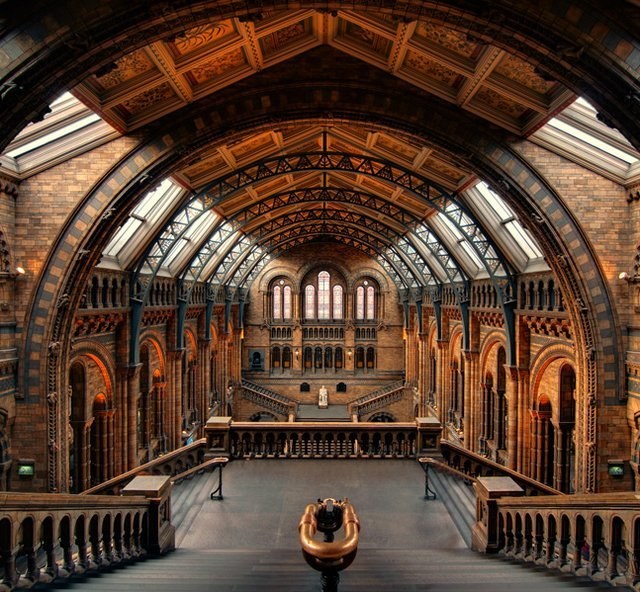 The Natural History Museum @ London by imgur.com