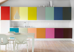 homedesigning:  Rooms with a Dash of Color Splash
