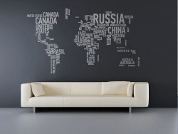 homedesigning:  Wall Stickers That Lend a Personal Touch