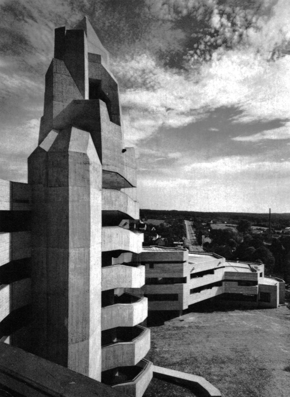 fuckyeahbrutalism: Town Hall, Bensberg, Germany, 1965-67 by Gottfried Böhm