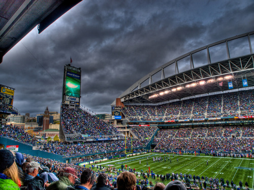 stadium-love-:  The Clink by William Bigelis CenturyLink Field: Home of the Seattle Seahawks