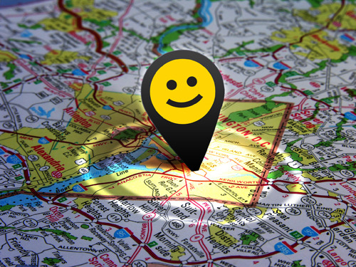 Are you on our happy map? Check out CareerBliss' Happiest Cities!