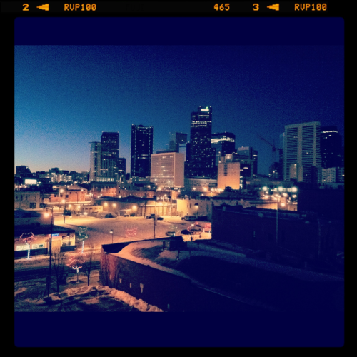 I have to say, Denver is so pretty when the sun is just coming up. Love where I live.