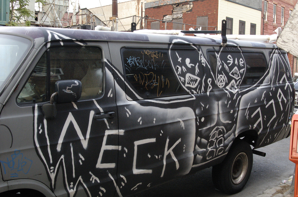 Neckface, The Van