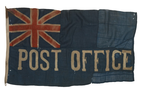 Via bsreport:   Post Office Blue Ensign - National Maritime Museum
