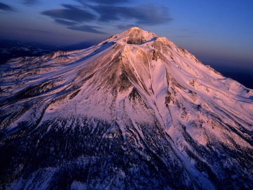 volcanopictures:  Mt. Shasta (14,179 ft or 4,322 m), California, USA