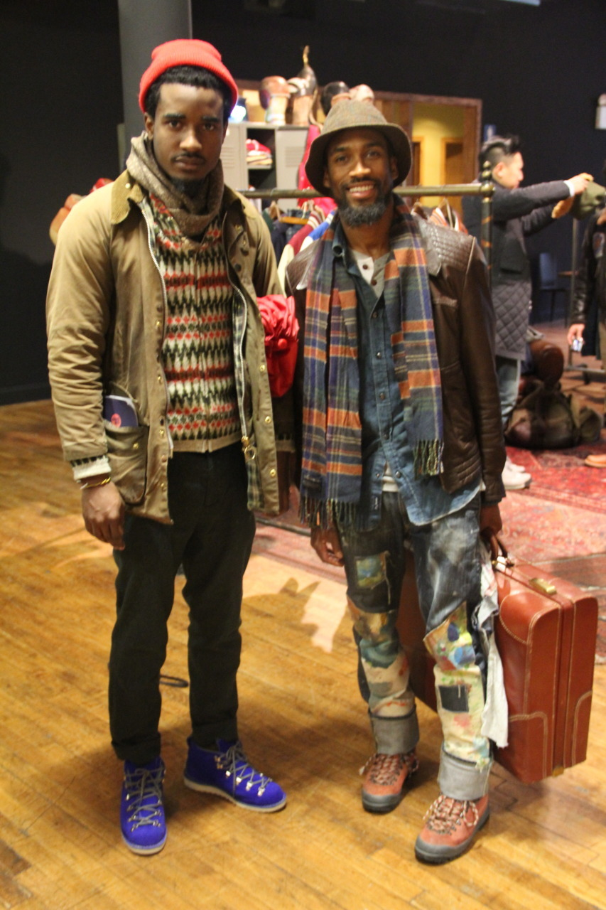 blog4prince:  Travis Gumbs of @StreetEtiquette and I at Project NY Photography by @Curran_J