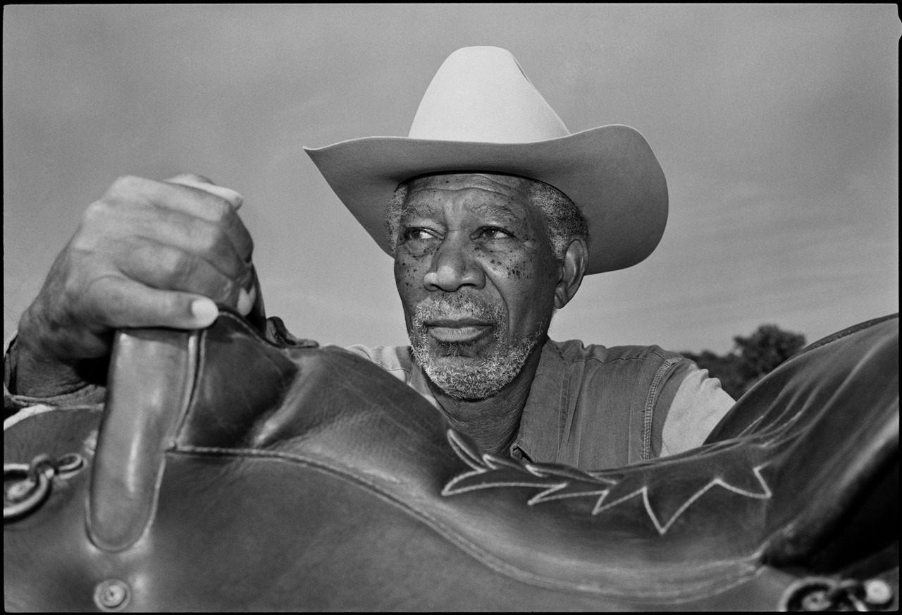Morgan Freeman - actor - Mississippi © Jim Herrington