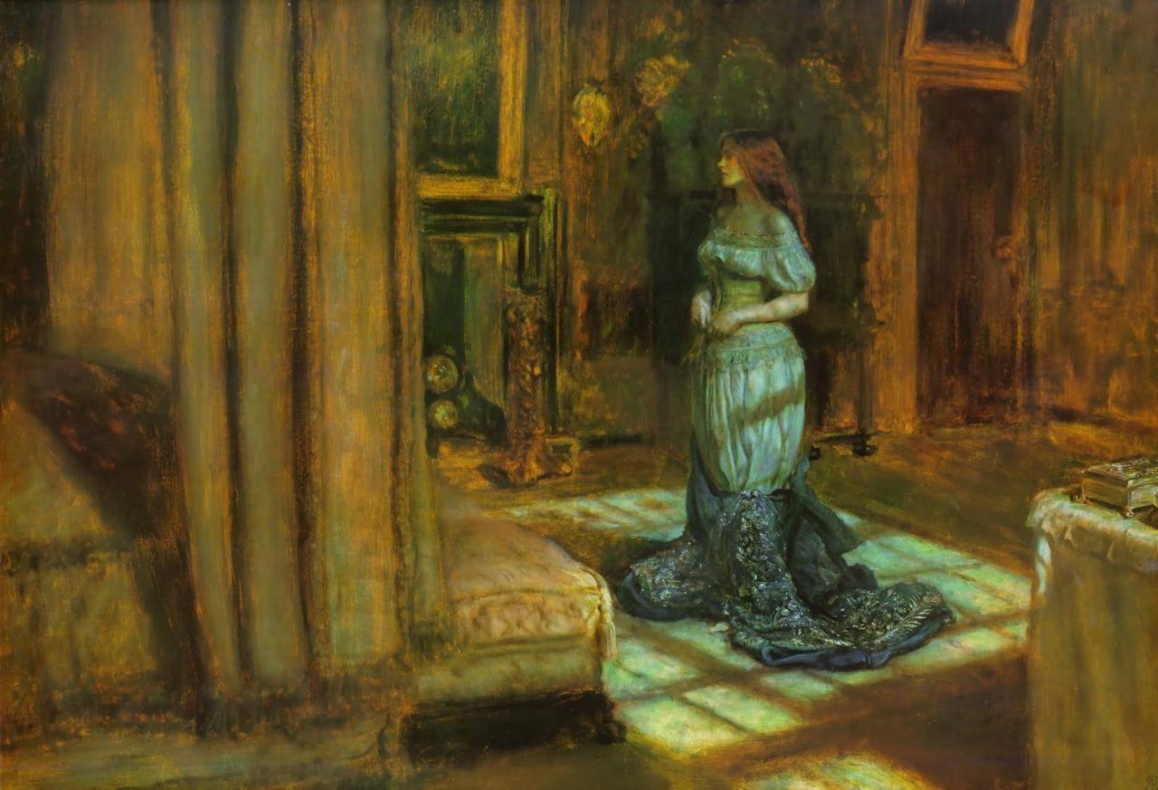 The Eve of St. AgnesJohn Everett Millais1863