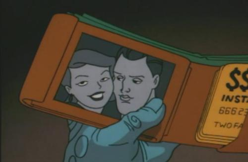 Watching Batman The Animated Series again. Got to Two-Face: Part 2 and had to pause it around the 8-minute mark. What kind of a bank gives a card to Two-Face?! Who in their right minds would allow a villain to bank with them? And how did he get a card without the proper ID?
