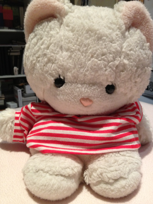 It started when I was one … Cuter than Hello Kitty, this cuddly toy was a firm favourite of mine as a baby. Small pointy ears and round big eyes with a cute button nose are all mandatory requirements for a sweet character.